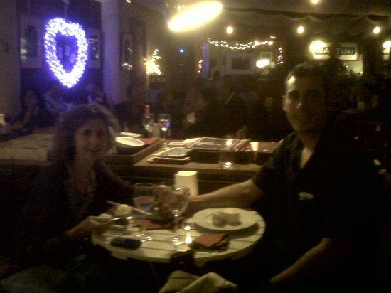 Restaurant Aiguaclara: Mom and Son on a Romantic evening! Fantastic!!