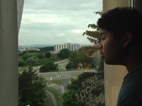 Hilton Zurich Airport: view