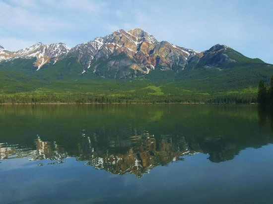 Pyramid Lake Resort: this is why to stay here, from a canoe on the lake...