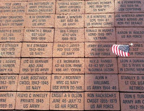 Eisenhower Veterans Monument: In Memory
