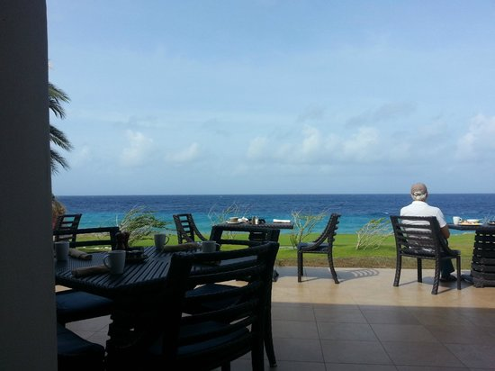 Shore: View at breakfast