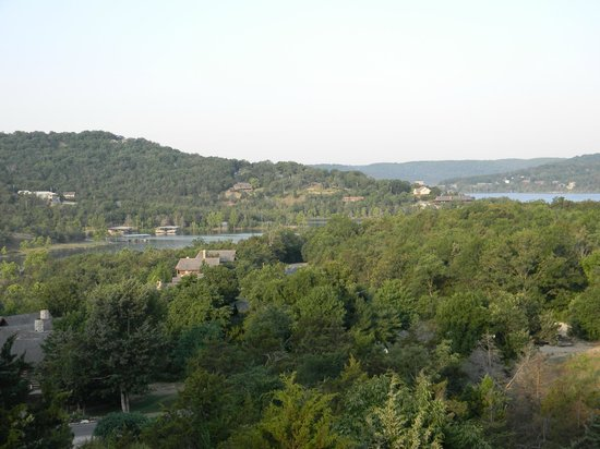 The Wilderness Club at Big Cedar: View from the deck