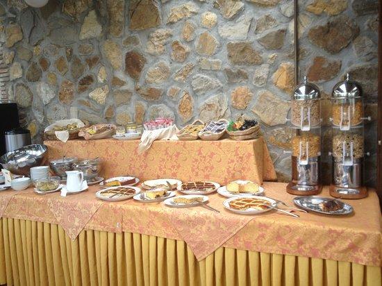 Hotel Resort Antico Casale di Scansano: (parte del) Buffet colazione
