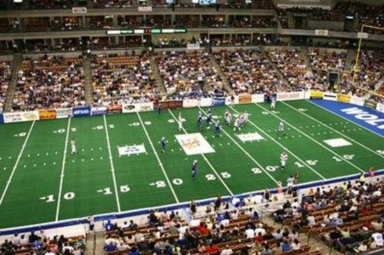 Hampton Inn & Suites Manchester - Bedford: Manchester Wolves Arena Football