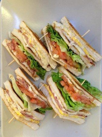 Bar Gelateria Da Fiore : club sandwich