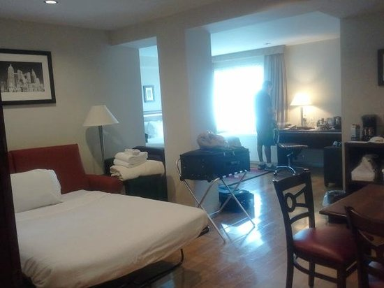 BEST WESTERN Bowery Hanbee Hotel: Large spacious room
