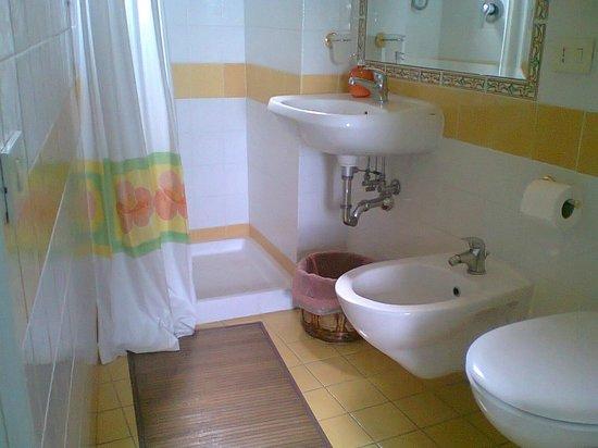 Il Girasole B&B: bagno camera doppia