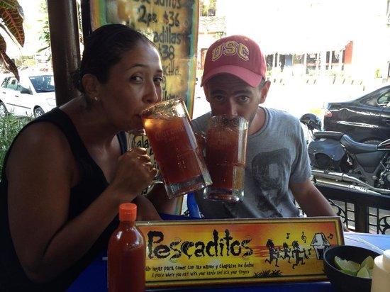 Pescaditos Cancun: Ojo Rojo