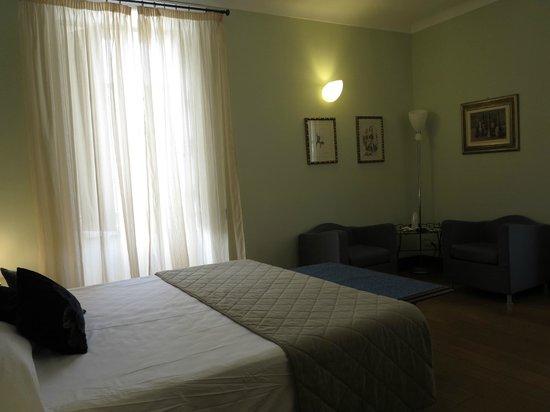 Antico Hotel Roma 1880: Vue de la chambre
