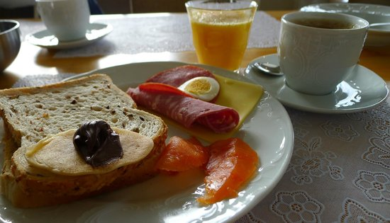 Fosshotel Hellnar: Breakfast