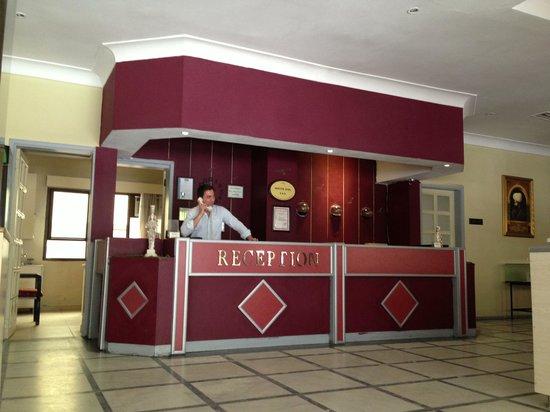 Santur Hotel: RECEPTION