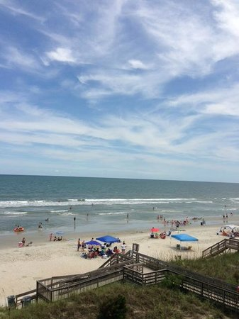The Oceanfront Litchfield Inn: view from room