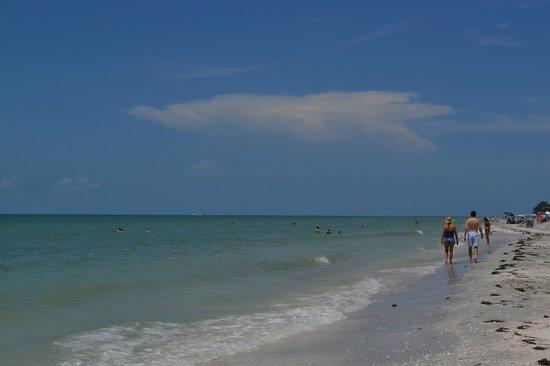 Gulf Breeze Cottages: plage