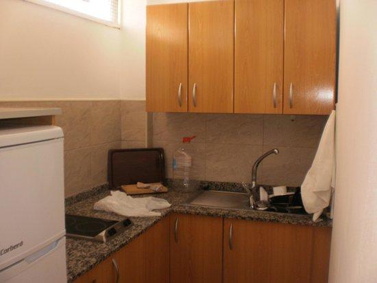 Las Arenas Apartamentos: cucina
