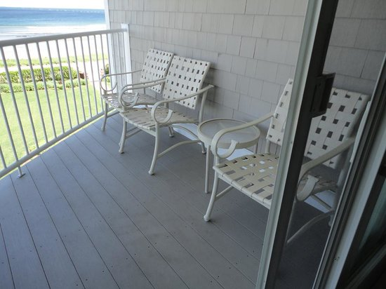 Anchorage Inn: Balcony