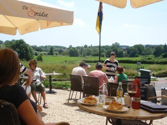 Hotel Herberg De Smidse: Een fijn uitzicht met een lekkere vlaai