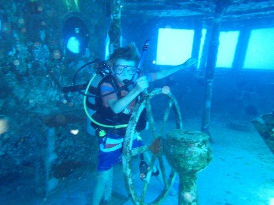 Kittiwake Shipwreck & Artificial Reef: The Captain!