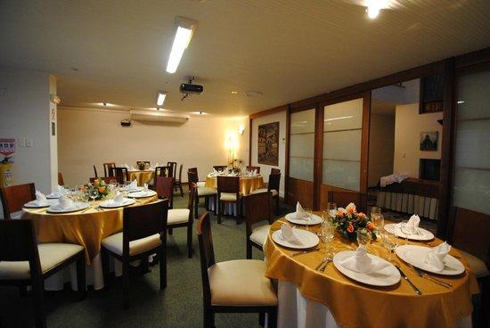 Hotel La Mansion: Salón recepción-Matrimonio