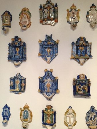 Museo Sorolla: holy water font collection