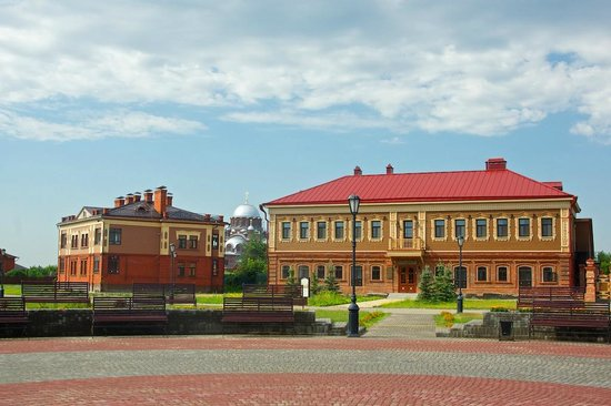 Sviyazhsk: merchant Kamenev mansion