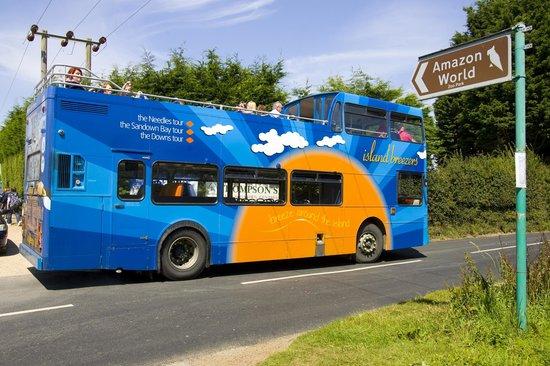 Visites permettant de monter et de descendre du bus à volonté