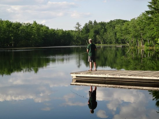 Beaver Dam Campground: Fishing opportunity