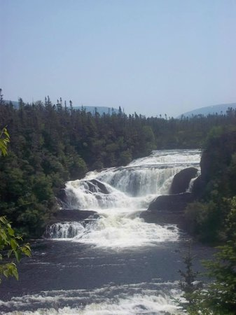 Rocky Harbour, Kanada: Bakers Brook Falls