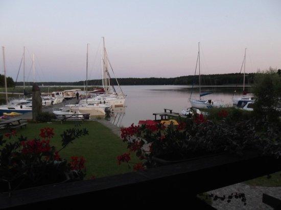 Pension Rybaczowka: dalla veranda