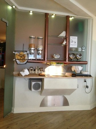 Hotel Domir: het bijzondere ontbijtbuffet. Klein maar fijn.