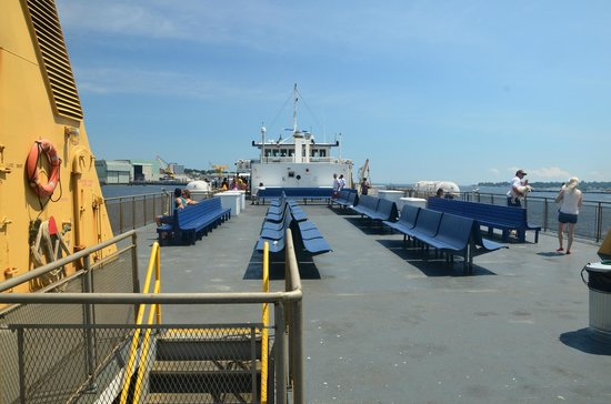 Cross Sound Ferry: Upper Deck