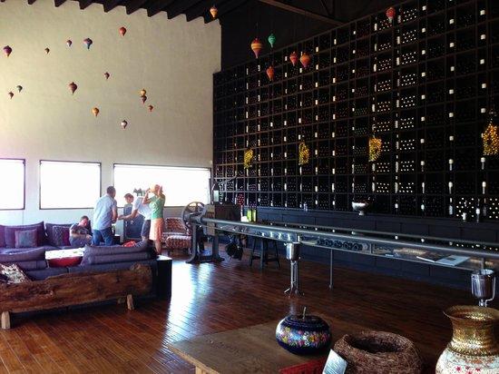 Casa Encinares Bed and Breakfast: Wine tasting at Santo Tomas