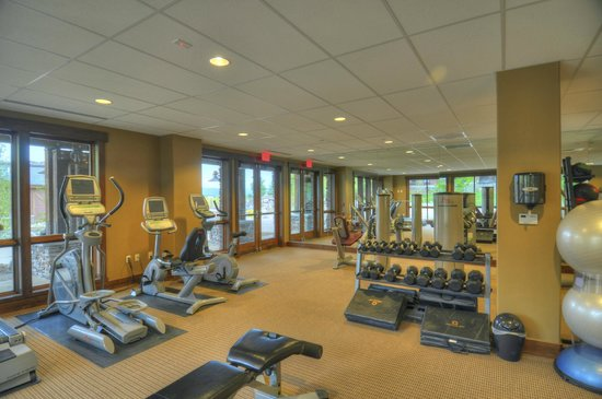 Trailhead Lodge: Fitness Room