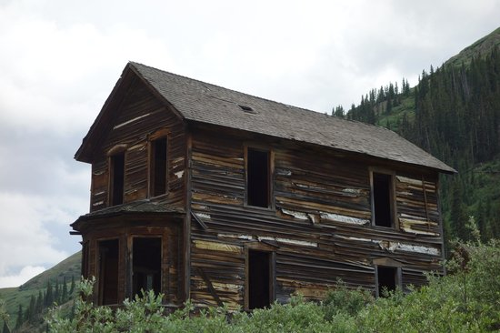 Animas Forks: the Duncan House