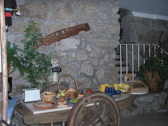 Quinta de Ribas : Salle petit déjeuner