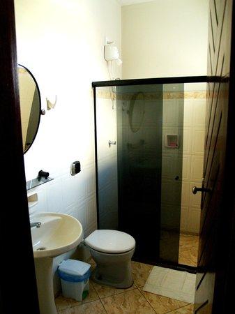Hotel Litoral: Banheiro