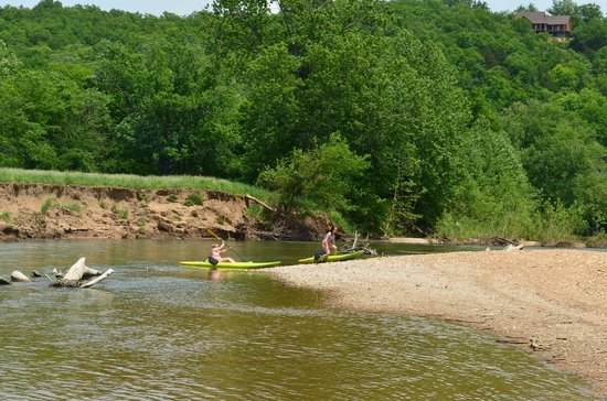 Ozark Outdoors: playing on the river