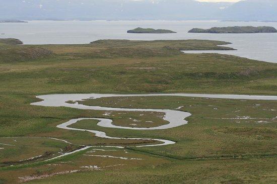 Da am Horizont liegen die Westfjorde