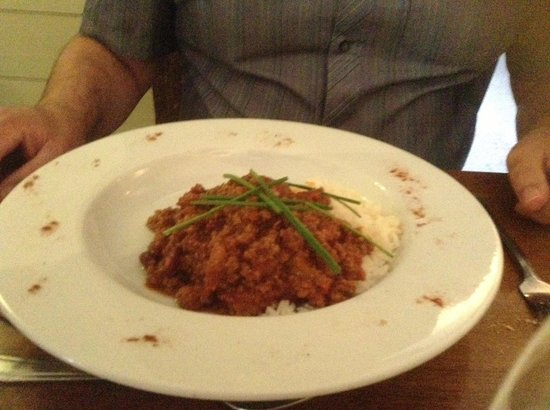 The Charlecote Pheasant Hotel: Dinner