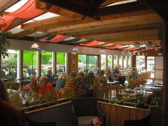 Nourish Sequim: Greenhouse dining