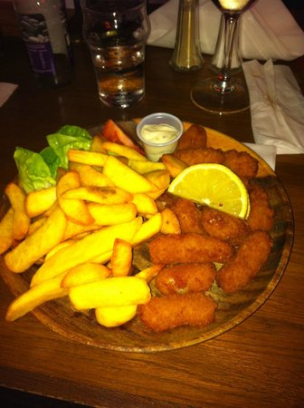 The Meadery: Scampi & Chips