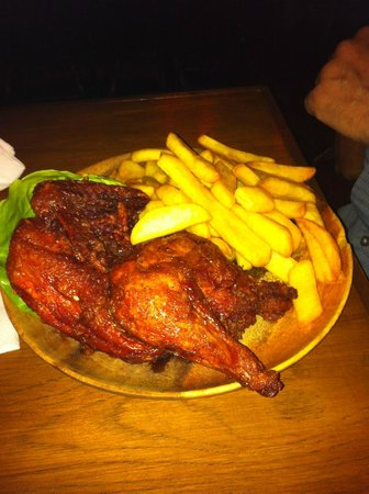 """The Meadery: Described on the menu as """"Chicken in the rough""""???"""