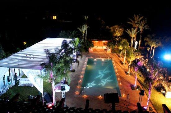 Pool Night Picture Of Villa Jardin Nomade Marrakech Tripadvisor