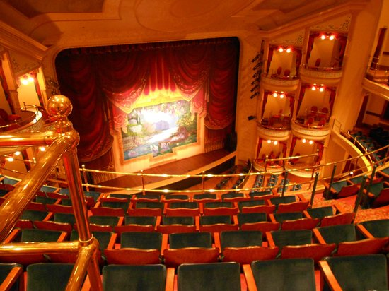 Grand 1894 Opera House: View from the top