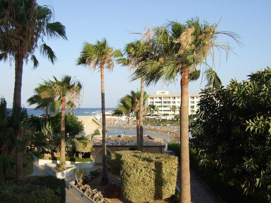 Pernera Beach Hotel: view from balcony
