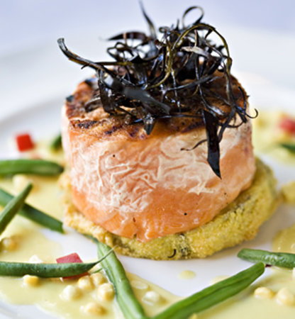 The Dunes: Lure serves high-quality, New American Cuisine, using local ingredients.