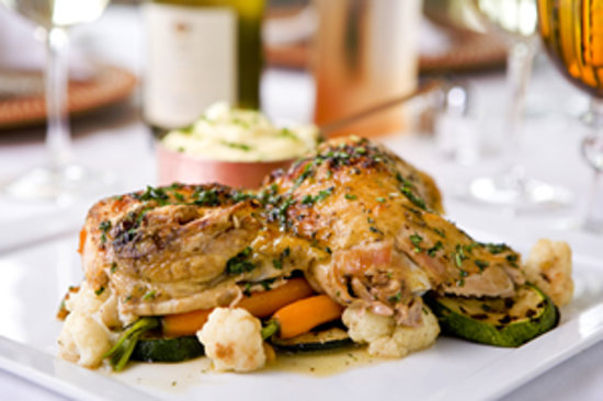 The Dunes: Lure offers family favorites, including chicken, beef, and seafood cuisine.