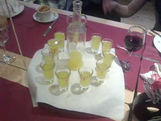 Le Delicatezze Di Bruno : Limoncello at Gina's birthday party!