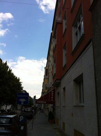 Hotel Adria Munchen : Liebigstr.