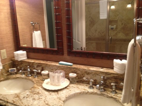 Ponte Vedra Inn & Club : Bathroom and shower