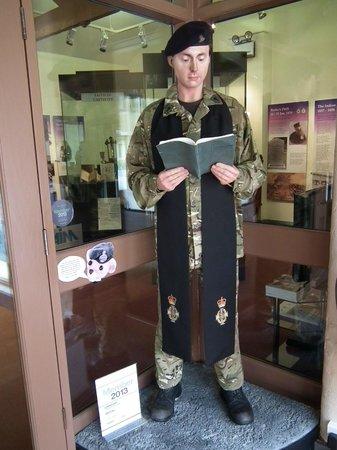 Museum of Army Chaplaincy: Museum display